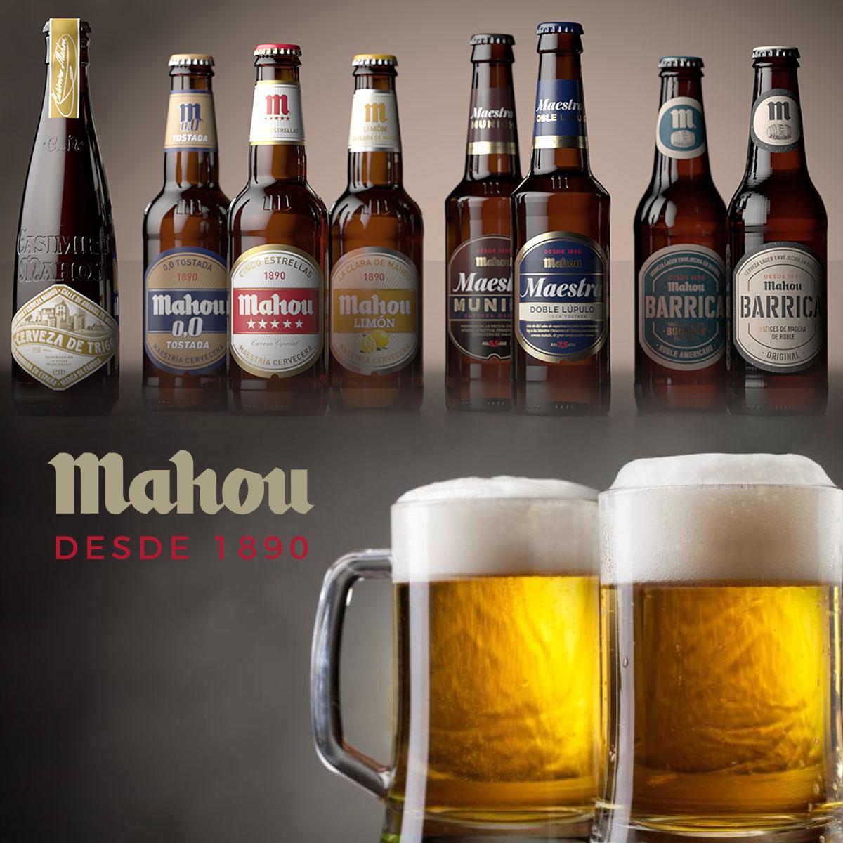 Mahou destaca como una de las mejores del mundo.
