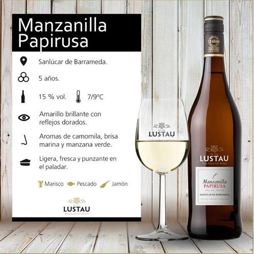 Manzanilla Papirusa de Bodegas Lustau