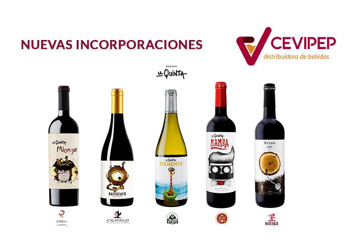 Incorporamos nuevos vinos a nuestro portfolio