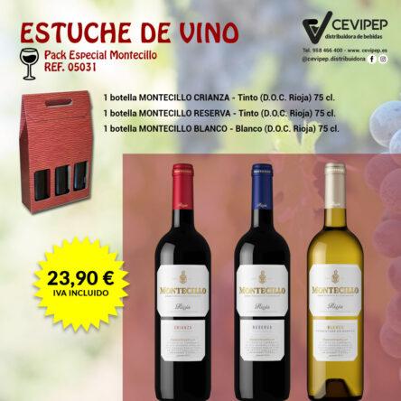 Estuche de Vino Ref 05031