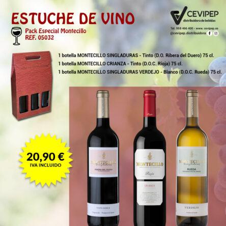 Estuche de Vino Ref 05032