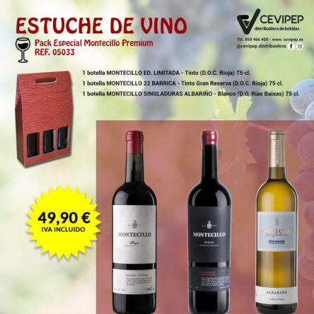 Estuche de Vino Ref 05033