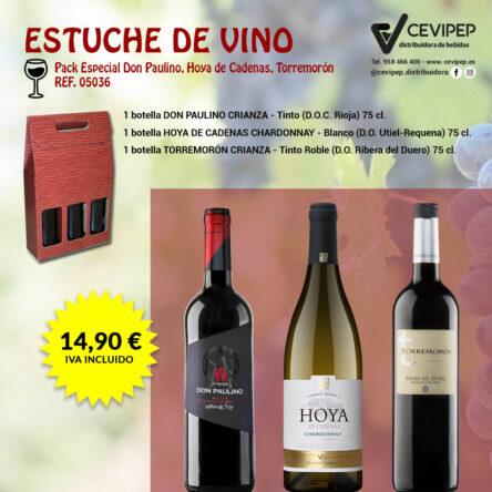 Estuche de Vino Ref 05036