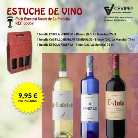 Estuche de Vino Ref 05037
