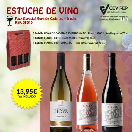 Estuche de Vino Ref 05040