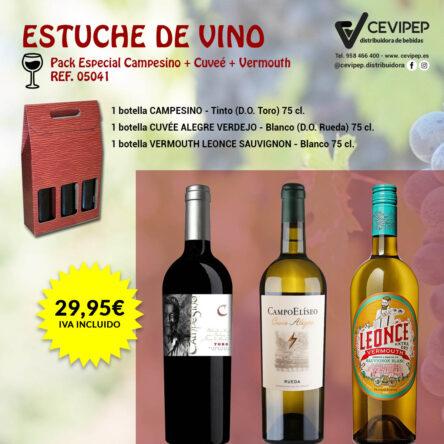 Estuche de Vino Ref 05041