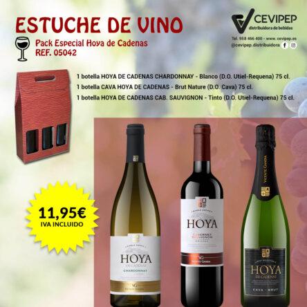 Estuche de Vino Ref 05042